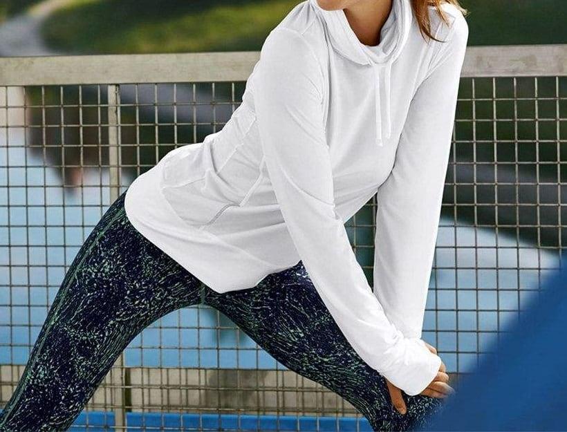تیشرت ورزشی آستین بلند زنانه کرویت S-306