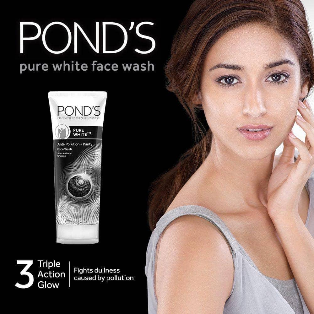 فوم شستشوی صورت پوندز مدل PURE WHITE